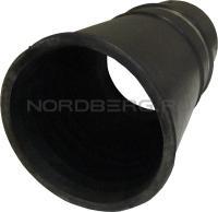 Насадка резиновая круглая на шланг D=150 мм NORDBERG AN150R
