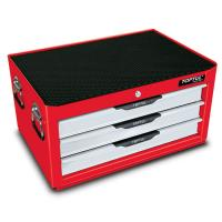 Ящик инструментальный с тремя отделениями, 157 предметов GCAZ0005 TOP-TUL
