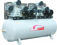 Компрессор Aircast поршневой с ременным приводом СБ 4/Ф-500 LB 75 Т  Тандем