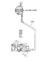 Приспособление для подвешивания ручных клещей Tecna 7551