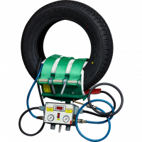 01012 Вулканизатор (3 гибких нагревателя и 3 пневмоподушки в чехлах) КОМПЛЕКС-1