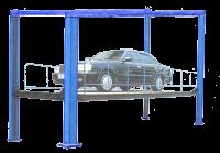 Подъемник лифт электрогидравлический для автомобилей ДАРЗ П-4-16