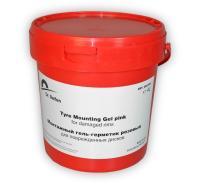Монтажный гель-герметик для поврежденных дисков розовый (4 л) GG1004