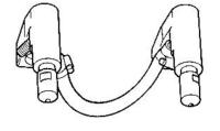 Комплект электрододержателей с электродами Tecna 8701 - 4021
