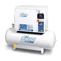 Компрессор винтовой Fiac New Silver 10/300 860 л/мин, 270 л