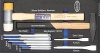 Licota ACK-E38303 Набор молотков и ударно-режущего инструмента 10 пр. EVA