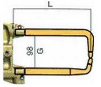 Комплект плеч с возд. охл.L=235мм,D=18мм Tecna 5023