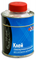 Клей резиновый самовулканизующийся для холодной вулканизации 800МЛ. с кисточкой