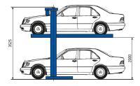Подъемник для парковки автомобилей г/п 3т Дарз П3-14