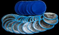 Пластырь резиновый для холодной вулканизации 88мм (50 шт.) П-5 ХВ