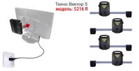 Стенд развал-схождения Техно Вектор 5 модель 5216 R