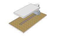 Зона подготовки к покраске без подогрева 6х3,5 (1 Ряд решеток)