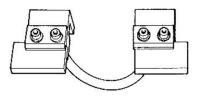 Комплект электрододержателей с электродами для сварки прутка Tecna 4074