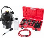 Набор приспособлений для замены тормозной жидкости, 6 л, комплект крышек адаптеров, 17 предметов МАСТАК 102-40005 фото