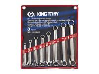 Набор накидных ключей, 6-22 мм., 8 предметов KING TONY 1C08MR