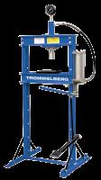 Пресс напольный 12 т с манометром Trommelberg SD200803B