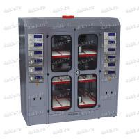 Зарядно-десульфатирующий шкаф для АКБ Светоч-03-12.40B.50A.R18A(250Вт).ЖК фото
