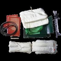 Комплект оснастки к вулканизатору «Комплекс-3» (2 гибких нагревателя и 2 пневмоподушки в чехлах) 01 115