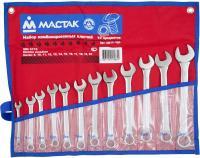 Набор комбинированных ключей, 8-22 мм, 12 предметов МАСТАК 0211-12P фото