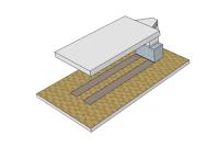 Зона подготовки к покраске без подогрева 6х3,5 (2 ряда решеток)