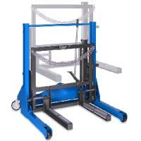 Тележка гидравлическая г/п 700 кг. для снятия колес грузовых автомобилей MEGA (Испания) арт. SR700