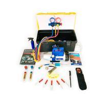 Портативное устройство для вакуумирования и заправки систем кондиционирования SMC-041-2+