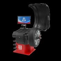 Балансировочный станок GELIOS с ультразвуковым датчиком и точечным лазерным указателем СБМП-60/3D Plus (УЗ, ТЛУ)