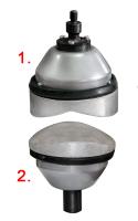 Комплект накладок с прижимами для вулканизаторов «Этна П», «Макси»