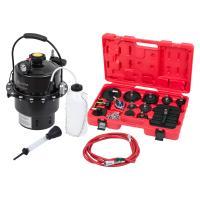Набор приспособлений для замены тормозной жидкости, 6 л, комплект крышек адаптеров, 17 предметов МАСТАК 102-40005 #2