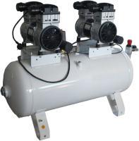 Компрессор безмасляный малошумный с насосами TWIN Cylinder серии «OLD» с прямым приводом СБ 4/С-100.OLD 20 - 3Т/10