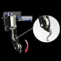 Вспомогательное устройство для монтажа шины УВ-1