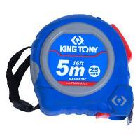 Рулетка измерительная 5 м / 16 FT, магнитный крюк KING TONY 79094-05C1