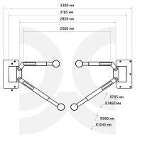 Подъёмник 2-х стоечный 4.0т, ПГН2-4.0(М) 380В #8