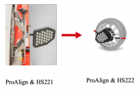 Hunter 20-3484-1E Комплект мишеней высокого разрешения (HD) и адаптеров быстрого зажима (Quick Grip)
