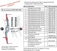 M&B ОПЦИЯ АДАПТЕР 300106 набор для балансировки MOTO-колес (805 818 000) #5