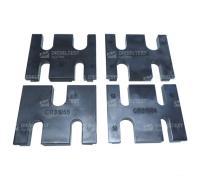 DL-CR50167 Комплект из 4-х блоков держателей форсунок CR для тисков
