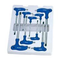 Набор Г-образных ключей TORX с отверстием, T10-T50, 9 предметов KINGTONY 22309PR