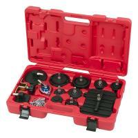 Набор приспособлений для замены тормозной жидкости, 6 л, комплект крышек адаптеров, 17 предметов МАСТАК 102-40005 #3