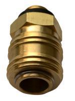 """RP208321 Клапан быстроразъемного соединения с внешней резьбой 1/4"""" (10шт.)"""