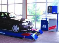 PMS 3/2, Стенд контроля состояния подвески и рулевого управления для легковых автомобилей