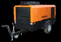 Передвижные винтовые компрессорные станции с дизельным двигателем ММЗ 100 кВт ДК-10/15.