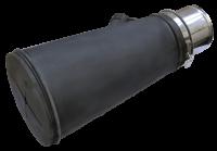 Насадка неопреновая диаметр 120 мм для шланга 76 мм. Trommelberg CA000076120