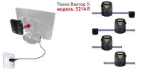 Стенд развал-схождения Техно Вектор 5 модель 5214 NR PRRC