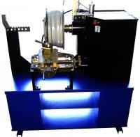 Станок для правки литых дисков с электрической гидравликой c токарной группой (электропривод вала) 21LE