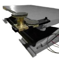 Подъемник ножничный г/п 2500 кг. пневматический напольный с поворотными лапами KraftWell арт. KRW260B #2