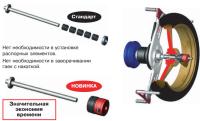 M&B ОПЦИЯ АДАПТЕР 300106 набор для балансировки MOTO-колес (805 818 000) #4