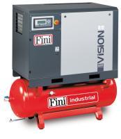 Винтовой компрессор Fini VISION 808-270F-ES на ресивере с осушителем