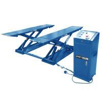 Подъёмник ножничный короткий шиномонтажный г/п 3000 кг. KraftWell арт. KRW3TN/380_blue