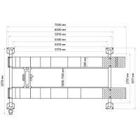 4-х стоечный подъёмник под сход-развал 5.5т, ПГ4-5.5 (У) #5