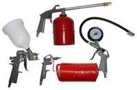 Набор пневмоинструментов, 5 предметов, QUATTRO ELEMENTI 771-138